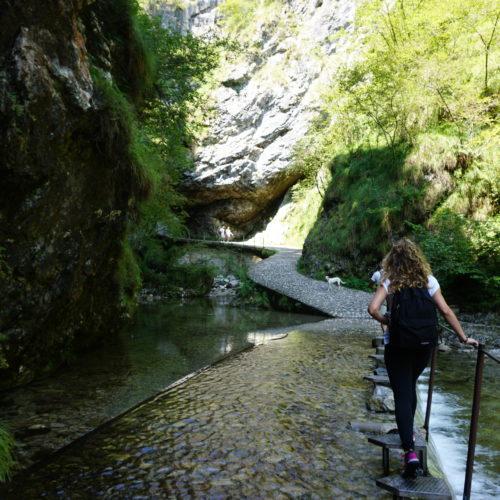 Alle Marmitte dei Giganti in Val Vertova
